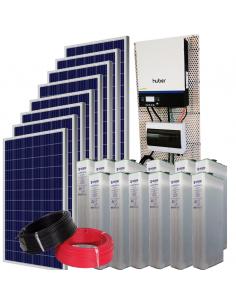 Kit Solar Aislada 13500 Wh/día verano y 6300Wh/dia invierno