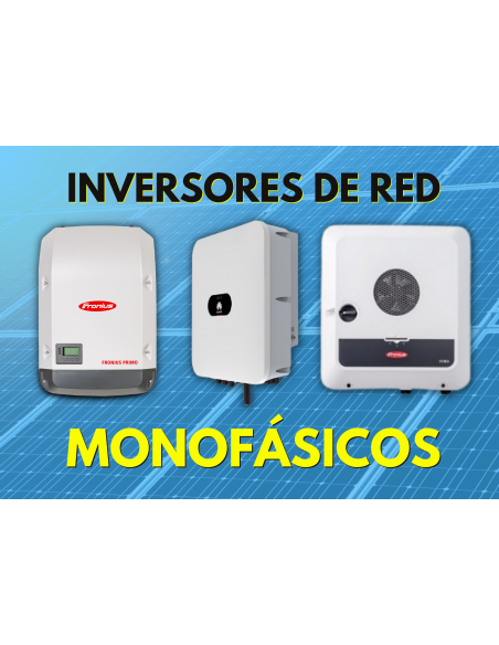 Inversores de Red Monofásicos